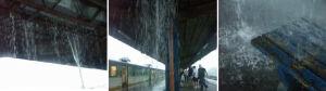 Dworzec Wschodni: woda lała się przez dach jak przez sito