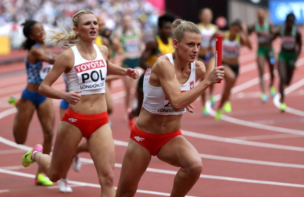 To był wspaniały bieg. Polska sztafeta ma medal!