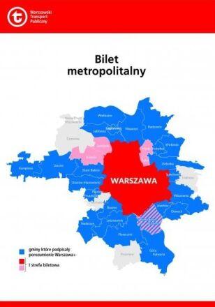 Piastów dołącza do biletu metropolitalnego ZTM