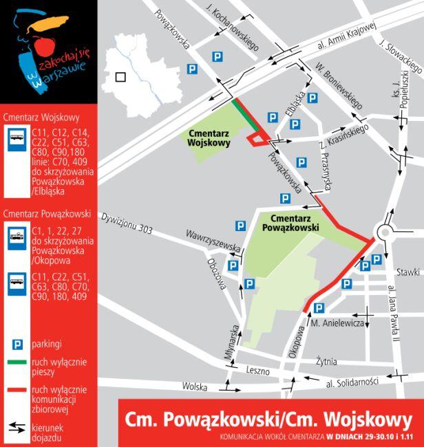 Cmentarz Powązkowski i Wojskowy 29-30.10 i 1.11 UM