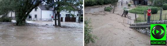 """Miasteczko pod wodą. """"Szkody, jakich ludzie nie pamiętają od czasów powodzi z 1997 roku"""""""