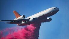 Pożary w Kalifornii (PAP/EPA/JOHN CETRINO)