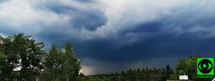Pioruny, ciemne chmury i intensywne opady. Wasze relacje z burzowej niedzieli