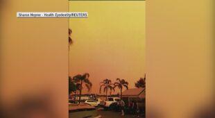 Australijskie krajobrazy w czasie pożarów